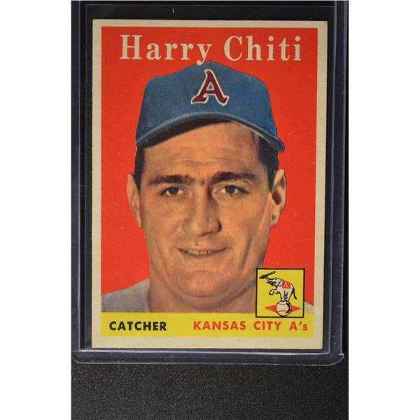 1958 Topps #119 Harry Chiti