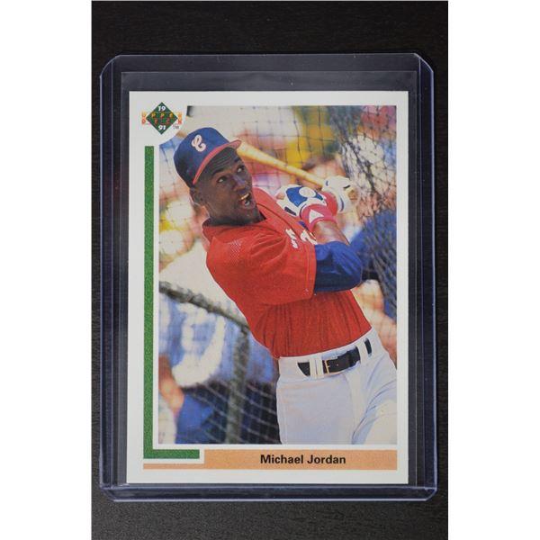 1991 Upper Deck #SP1 Michael Jordan SP/Shown batting in/White Sox uniform