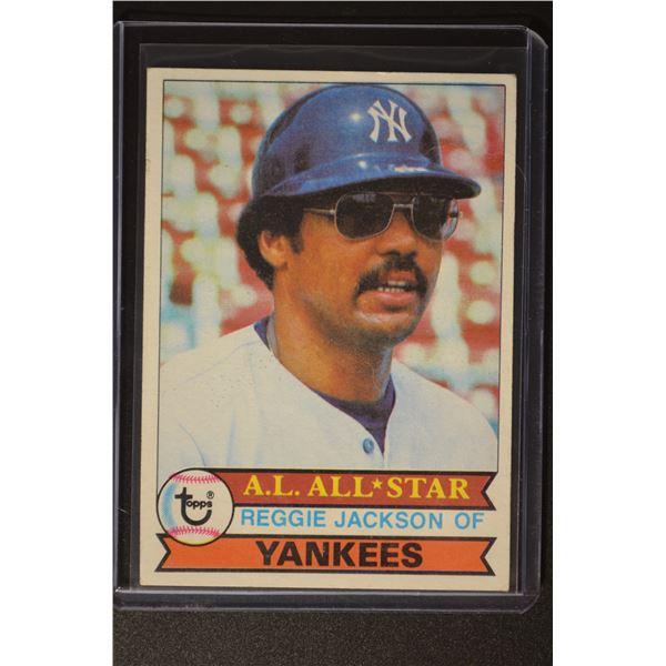 1979 Topps #700 Reggie Jackson DP