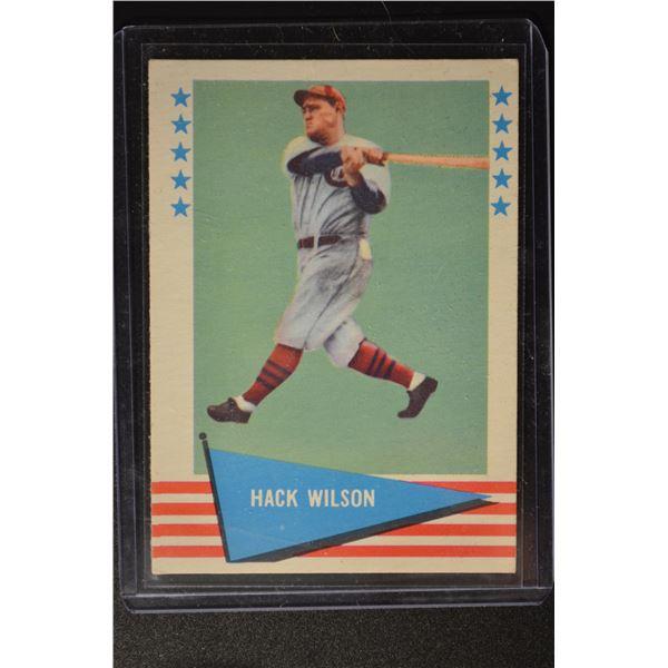 1961 Fleer #87 Hack Wilson