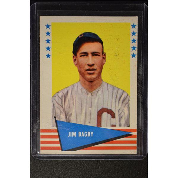 1961 Fleer #92 Jim Bagby