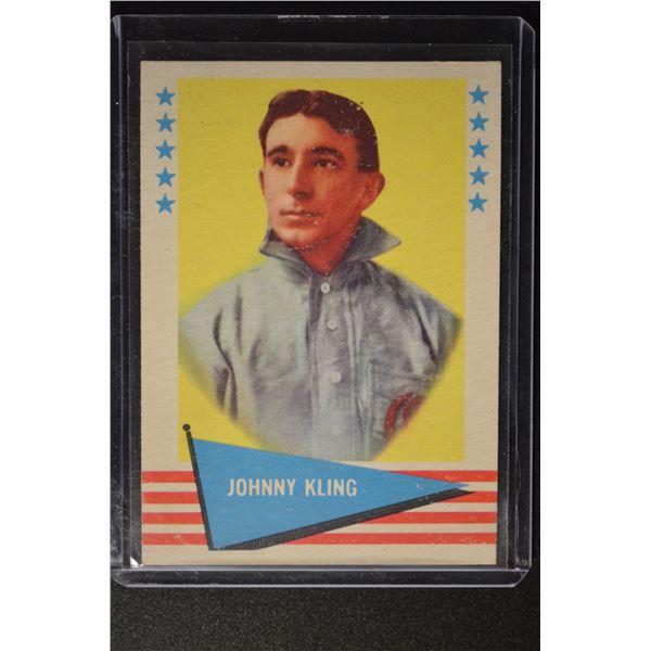 1961 Fleer #52 Johnny Kling