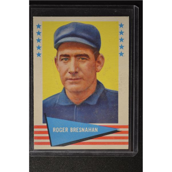 1961 Fleer #10 Roger Bresnahan
