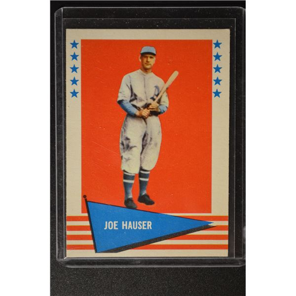 1961 Fleer #113 Joe Hauser
