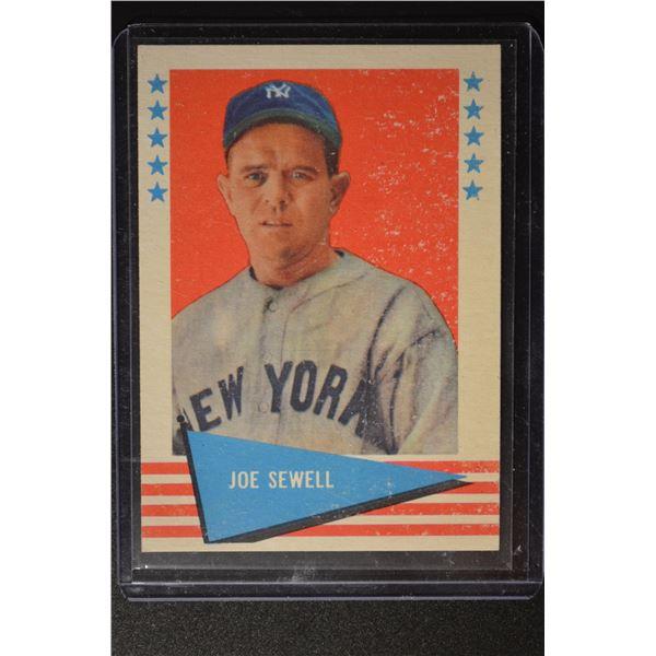 1961 Fleer #76 Joe Sewell