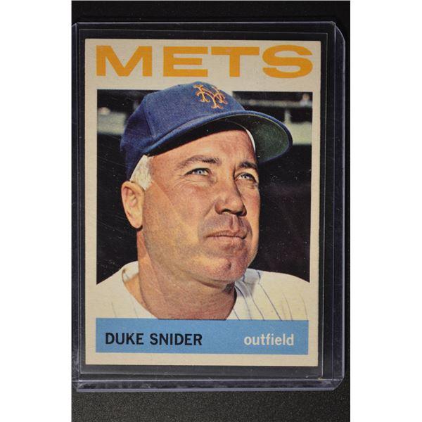 1964 Topps #155 Duke Snider