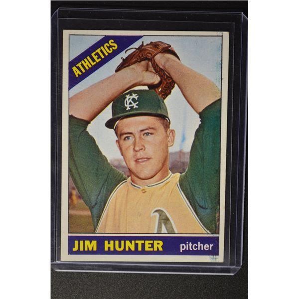 1966 Topps #36 Jim Hunter DP/UER