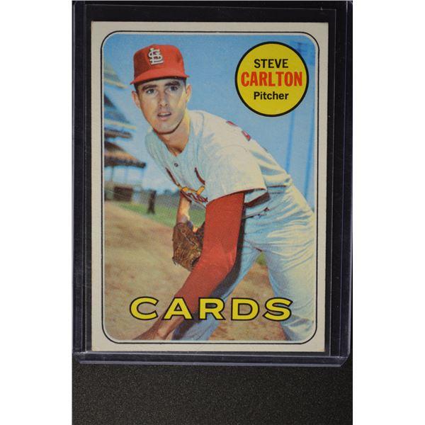 1969 Topps #255 Steve Carlton