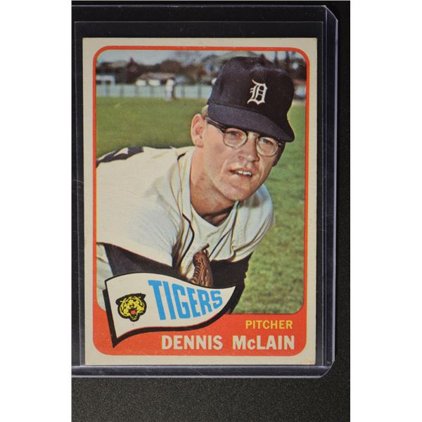 1965 Topps #236 Denny McLain ROOKIE