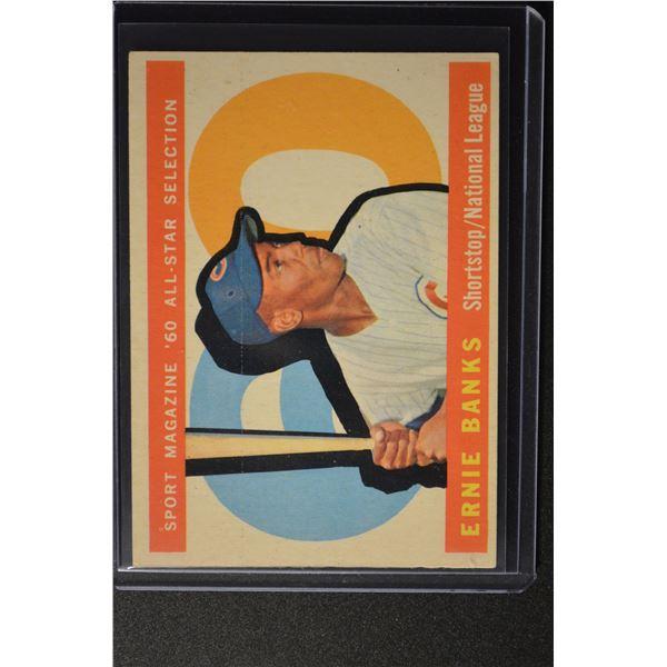 1960 Topps #560 Ernie Banks AS