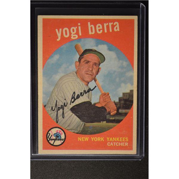 1959 Topps #180 Yogi Berra
