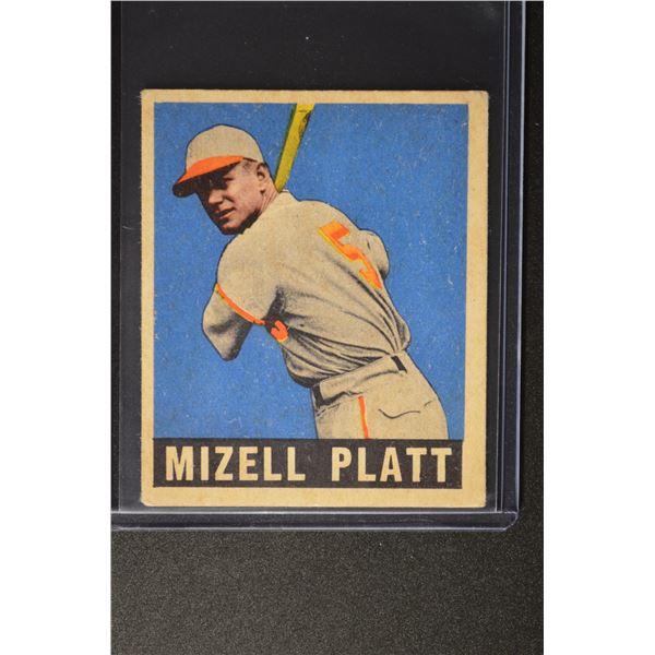 1949 Leaf #159 Mizell Platt ROOKIE