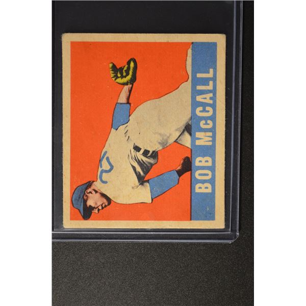 1949 Leaf #57 Bob McCall ROOKIE