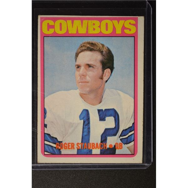 1972 Topps #200 Roger Staubach ROOKIE