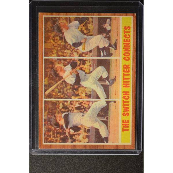 1962 Topps #318 Mickey Mantle IA