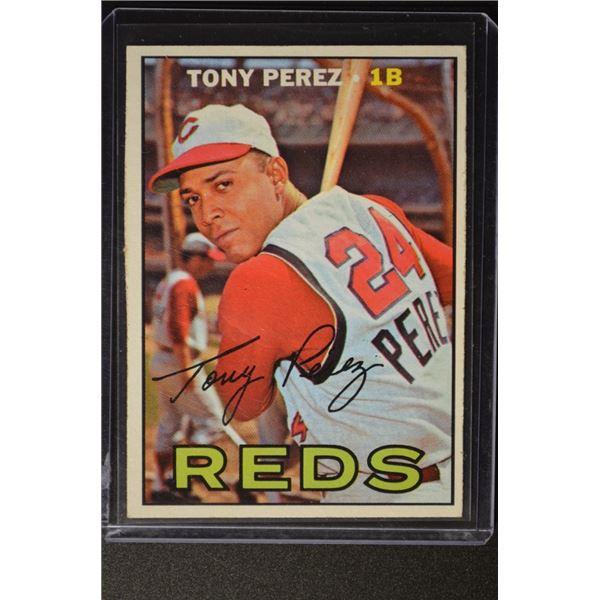 1967 Topps #476 Tony Perez SP