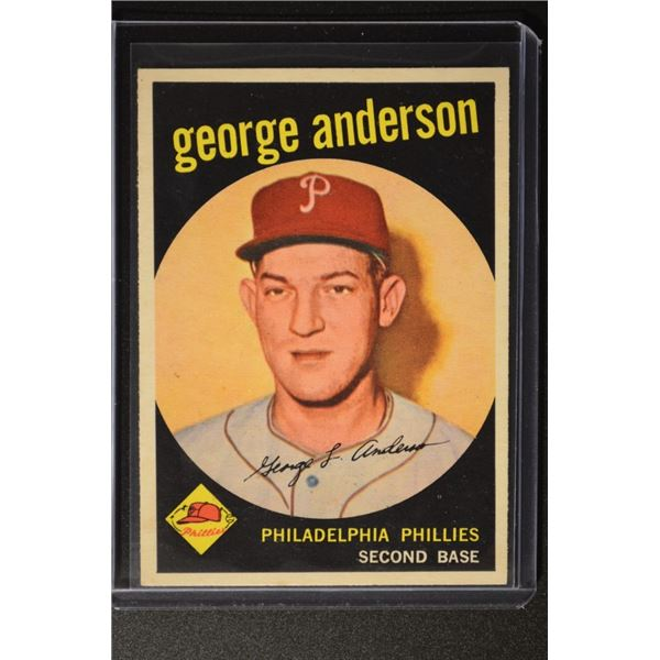 1959 Topps #338 Sparky Anderson ROOKIE