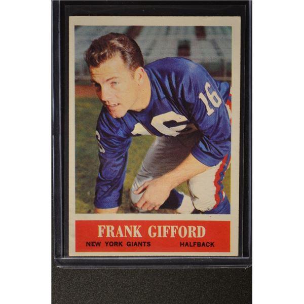 1964 Philadelphia #117 Frank Gifford