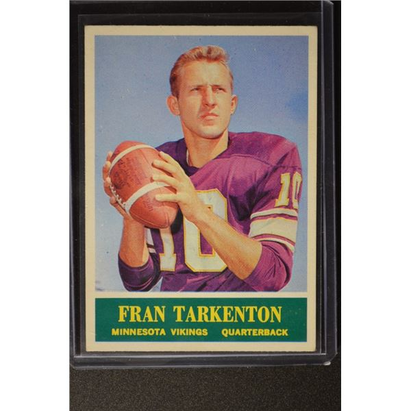 1964 Philadelphia #109 Fran Tarkenton