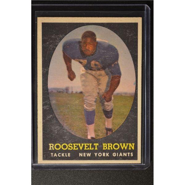 1958 Topps #102 Roosevelt Brown