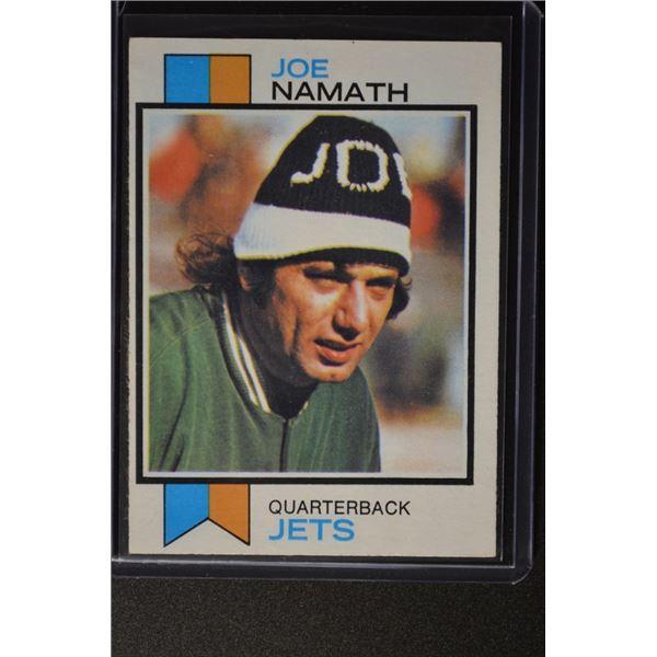 1973 Topps #400 Joe Namath