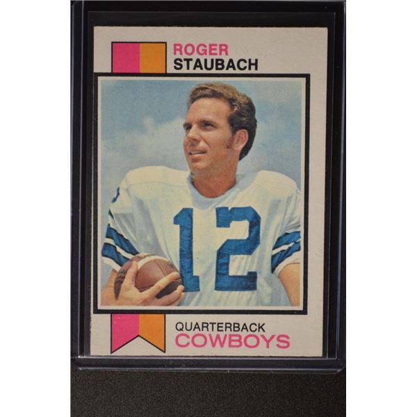 1973 Topps #475 Roger Staubach
