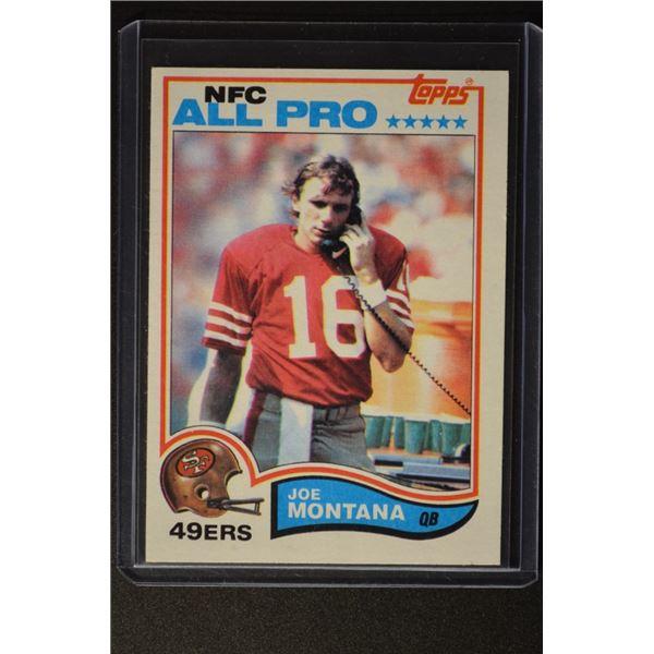 1982 Topps #488 Joe Montana AP