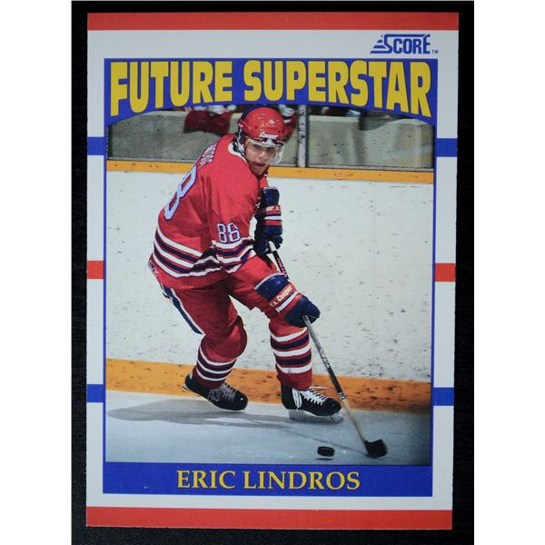 1990-91 Score #440 Eric Lindros ROOKIE (US) - MINT Condition!