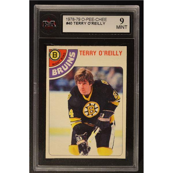 1978-79 O-Pee-Chee #40 Terry O'Reilly