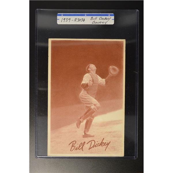 1939 Goudey Premiums R303B #5 Bill Dickey