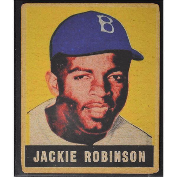 1949 Leaf #79 Jackie Robinson ROOKIE (Reprint)