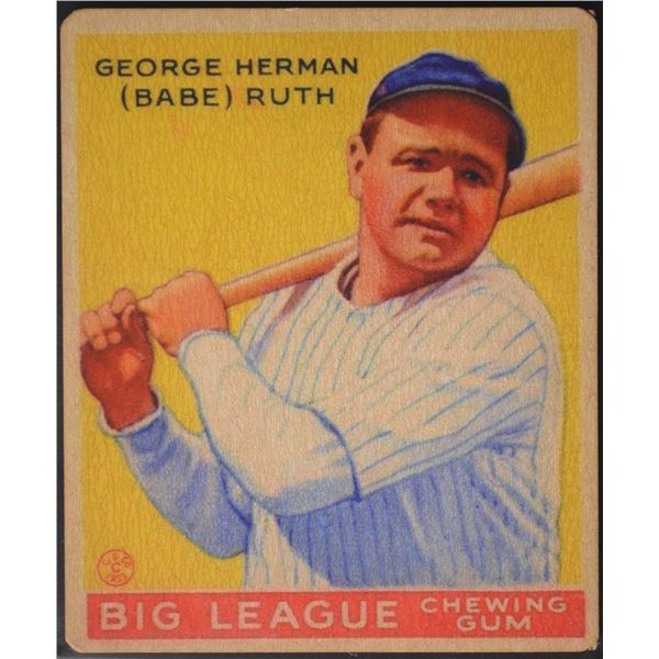 1933 Goudey #53 Babe Ruth ROOKIE (Reprint)