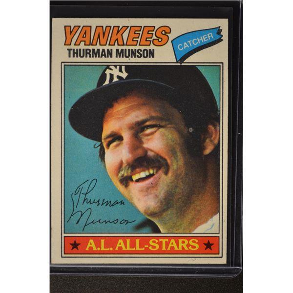 1977 Topps #170 Thurman Munson