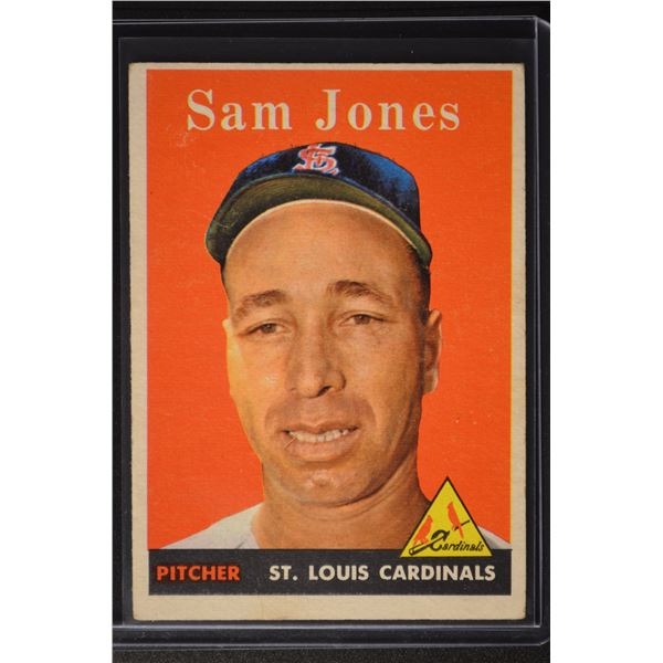 1958 Topps #287 Sam Jones