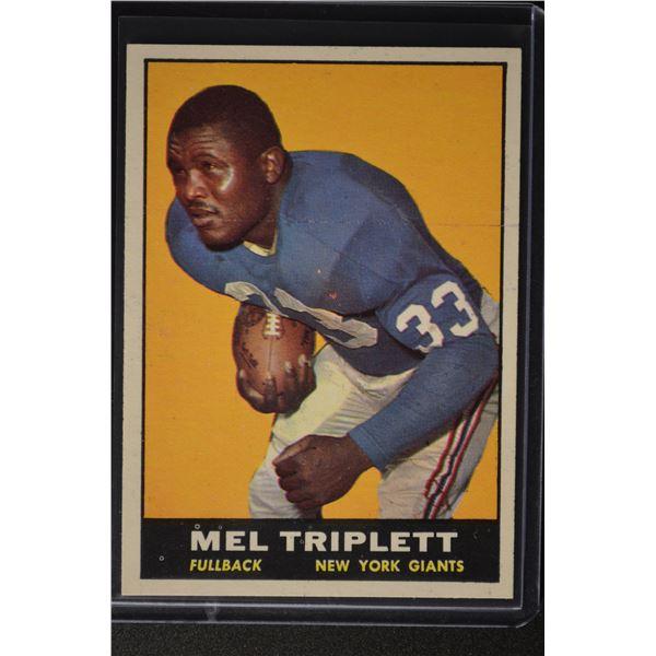 1961 Topps #86 Mel Triplett