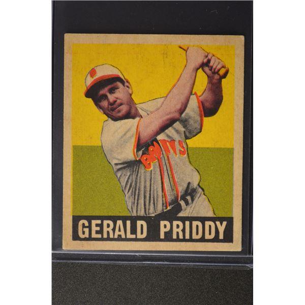 1949 Leaf #111 Jerry Priddy ROOKIE