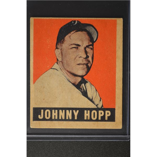 1949 Leaf #139 Johnny Hopp ROOKIE