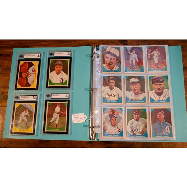 1960 Fleer Baseball Complete Set