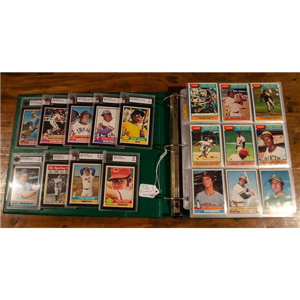 1976 Topps Baseball Complete Set