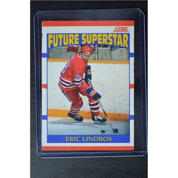 1990-91 Score Canadian #440 Eric Lindros ROOKIE