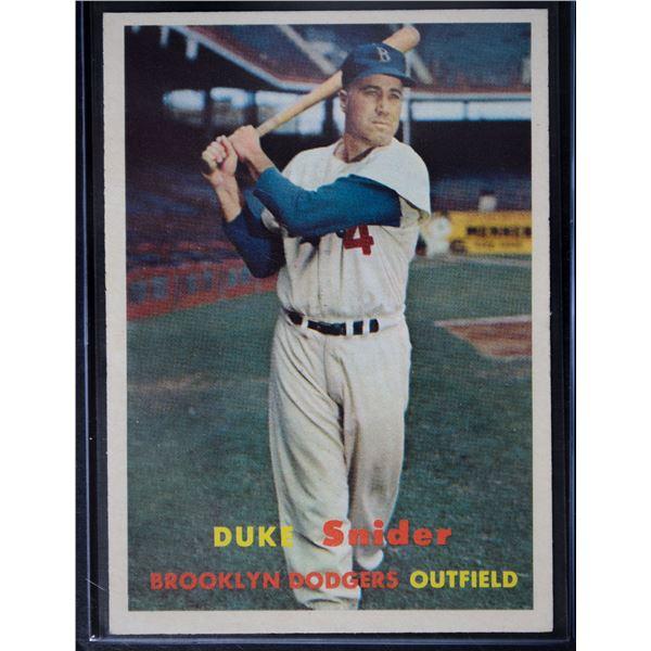 1957 Topps #170 Duke Snider