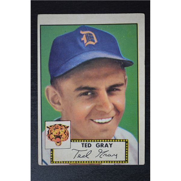 1952 Topps #86 Ted Gray