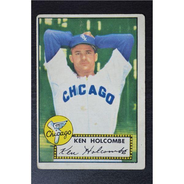 1952 Topps #95 Ken Holcombe