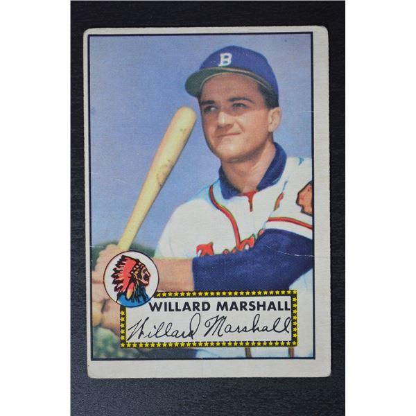 1952 Topps #96 Willard Marshall