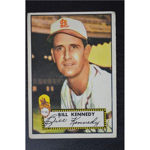 1952 Topps #102 Bill Kennedy