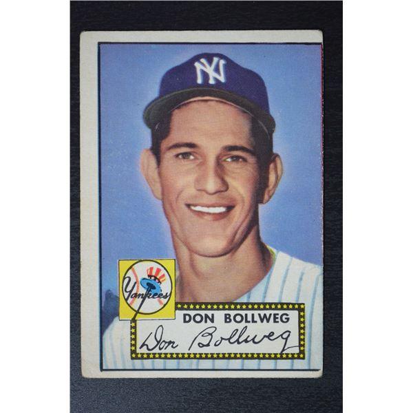 1952 Topps #128 Don Bollweg ROOKIE
