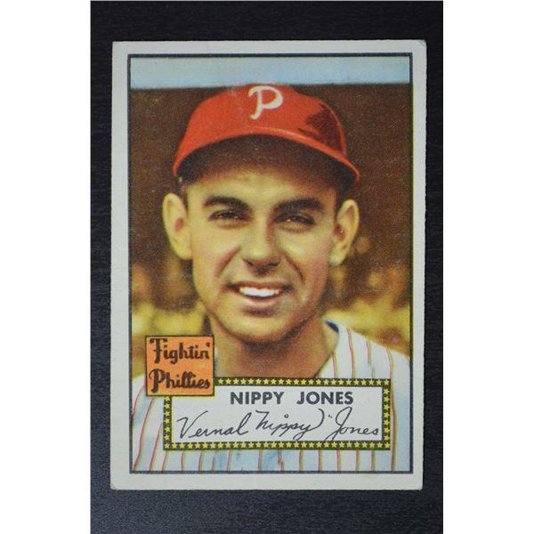 1952 Topps #213 Nippy Jones