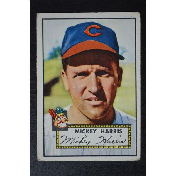 1952 Topps #207 Mickey Harris