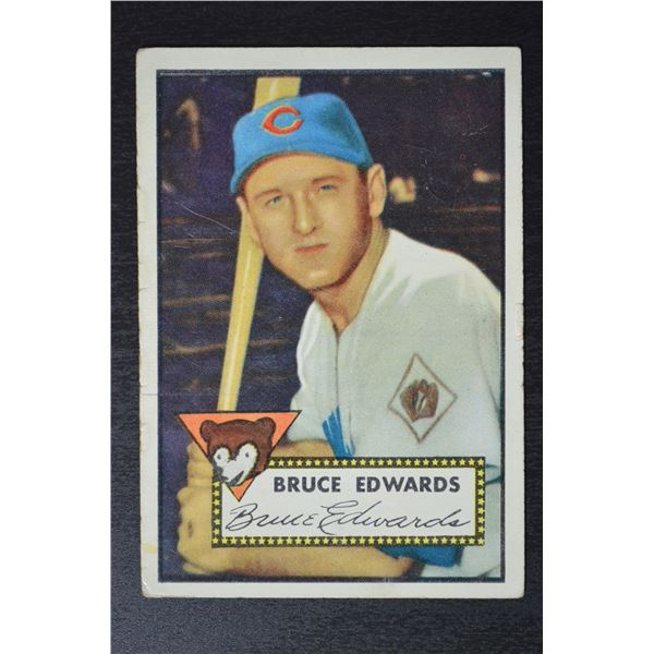 1952 Topps #224 Bruce Edwards