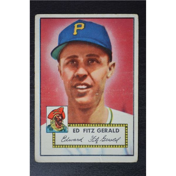 1952 Topps #236 Ed Fitzgerald